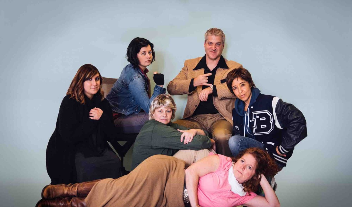 CF employees dressed as The Breakfast Club for Halloween