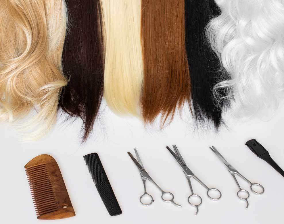 Care for different types of hair color blond redbrown dark straightand curly hair in mill creek wa