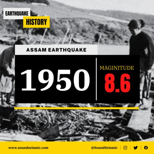 M 8.6 - 1950 Assam-Tibet Earthquake