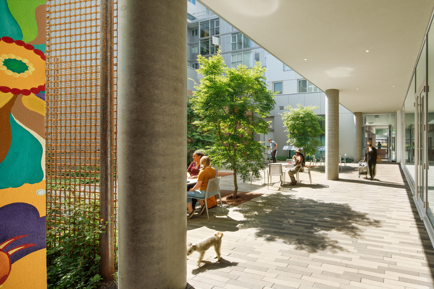 Louisa Flowers, Lever Architecture