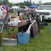 Iowa State Fairgrounds Auto Parts Swap Meet