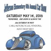 JEFFERSON ELEMENTARY 6th ANNUAL CAR SHOW