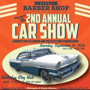 2nd Annual Blues Barbershop Car Show