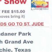 7th Annual St Jude Hospital Car Show