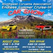 Northwest Corvette Association Endless Summer Cruise-In