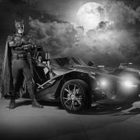 Pep Boys Car Show with Batman of Ogden