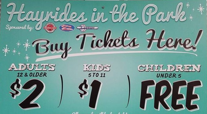 2017 Christmas Hayrides in the Park - wrac-hayrides-sign - Hot Rod Time wrac-hayrides-sign_large