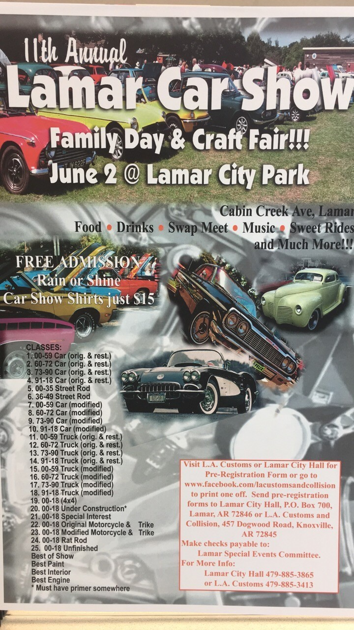 Polls 11th Annual Lamar Car Show Family Fun Day 3225 Hot Rod