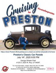 Cruising for Preston Monday, July 06 2020