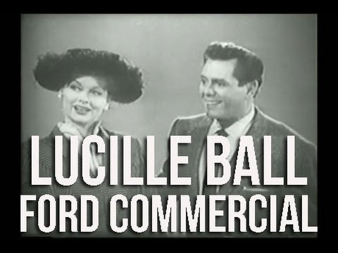 Lucille Ball Commercial