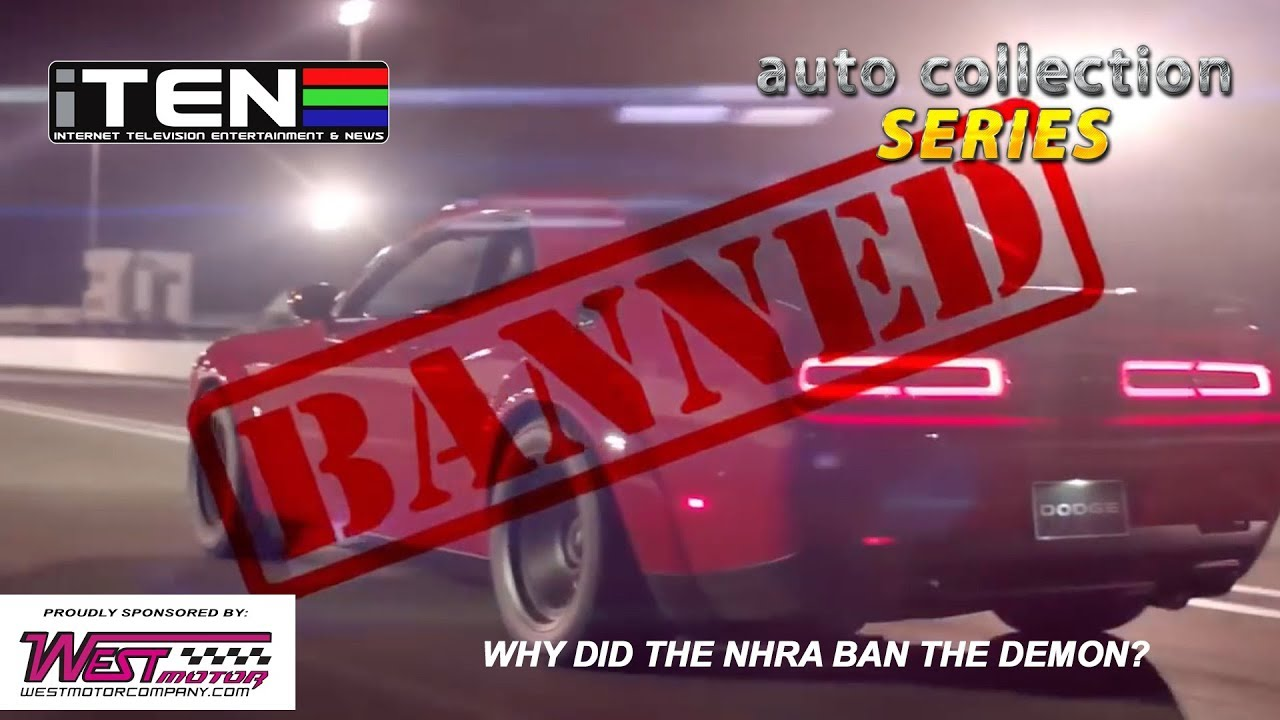 NHRA bans Dodge Demon