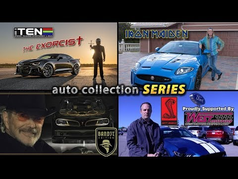 The Exorcist, The Bandit, GT350 Mustang, Iron Maiden Jaguar