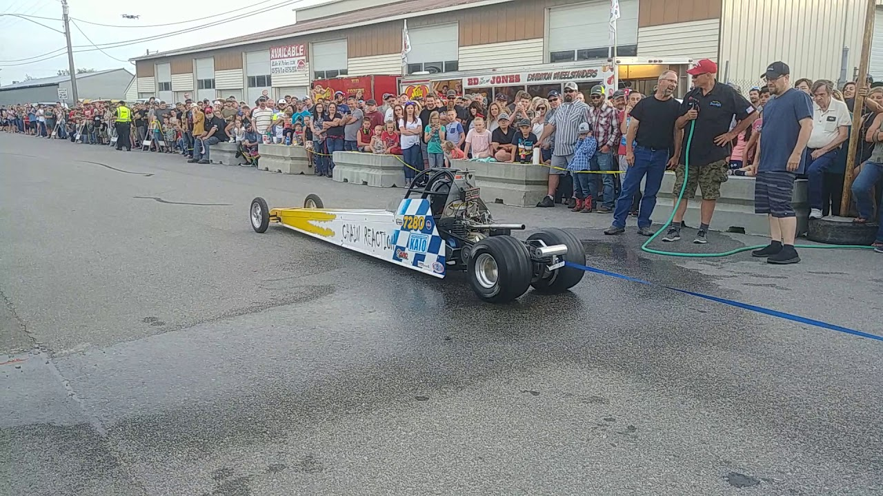 Mini Dragster Bunrout