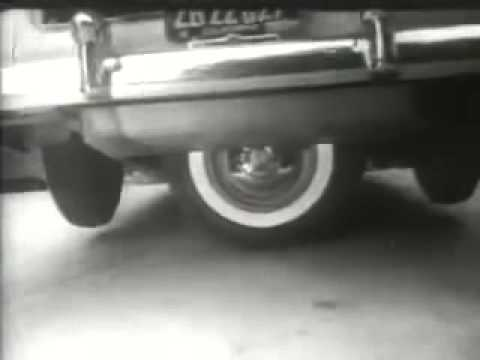 Vintage Cadillac Commercial 5th Wheel Driving