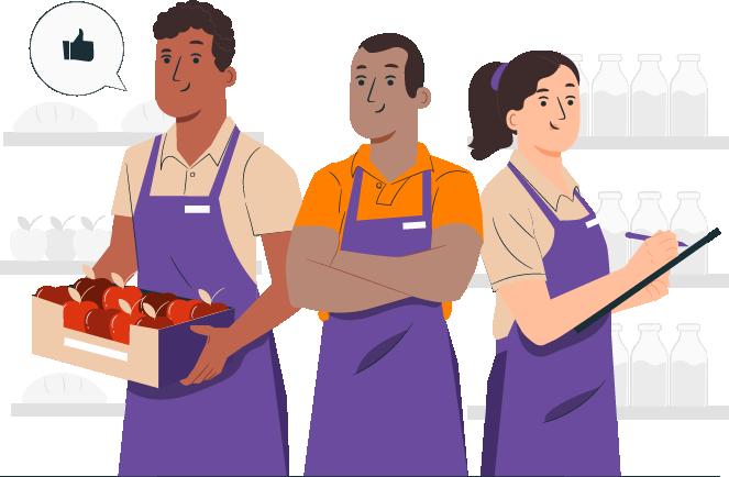 Vendedores - Características e funções