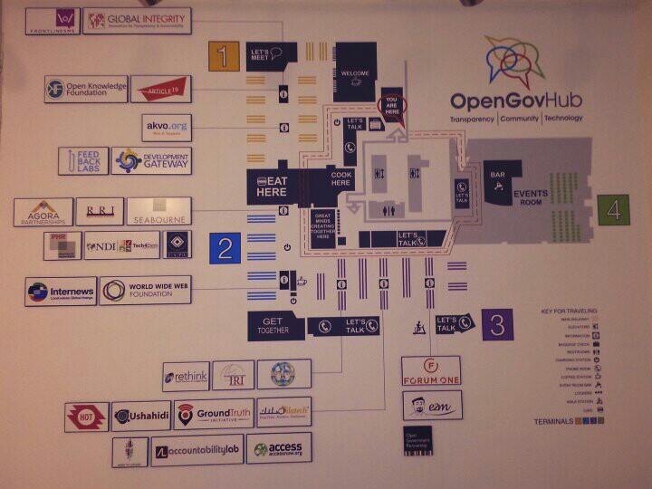 OpenGov Hub Office Map