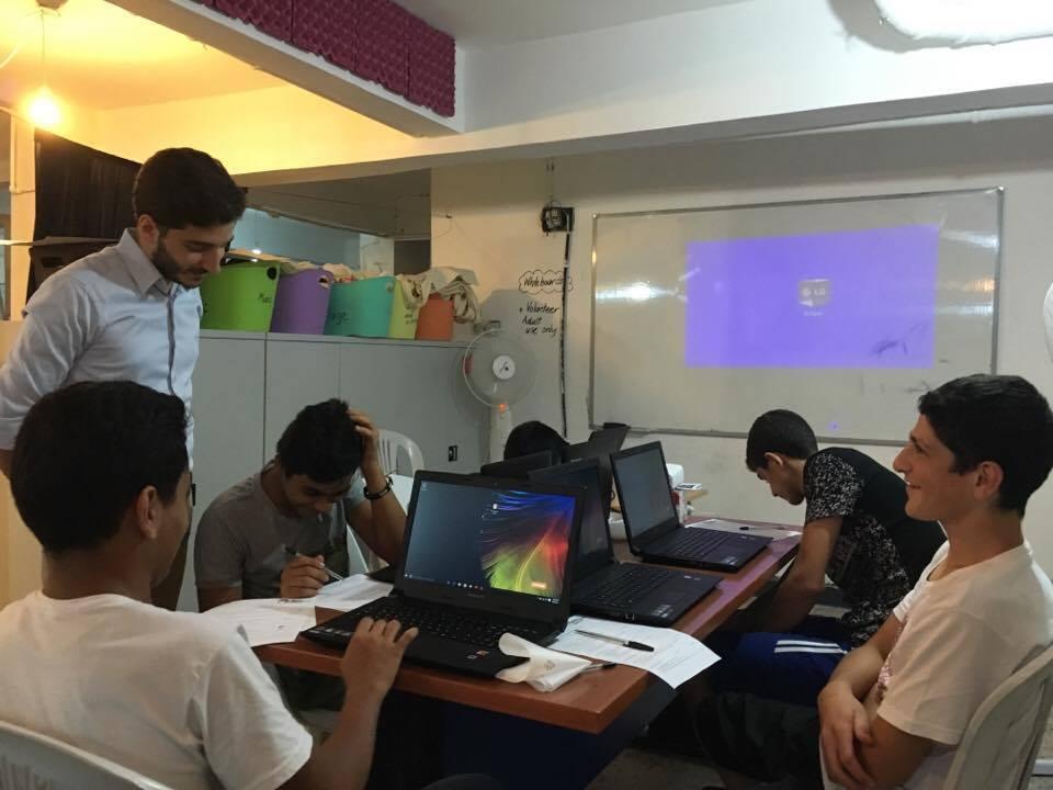 Computer classroom at SPI