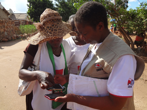 Zimbabwe Red Cross Collecting Data for OSM