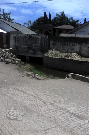 Residential buildings in Kijitonyama ward built close to streams PHOTO CREDIT: Ramani Huria