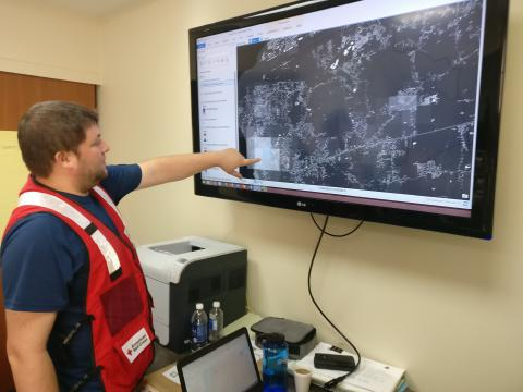 American Red Cross Planning With OSM