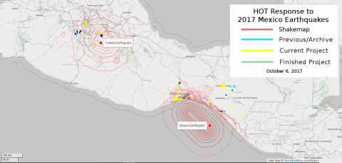 Mexico Earthquakes
