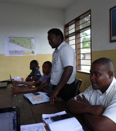 Ward Executive Officer for Tandale Mr. Osiligi Lossai CREDIT: Ramani Huria