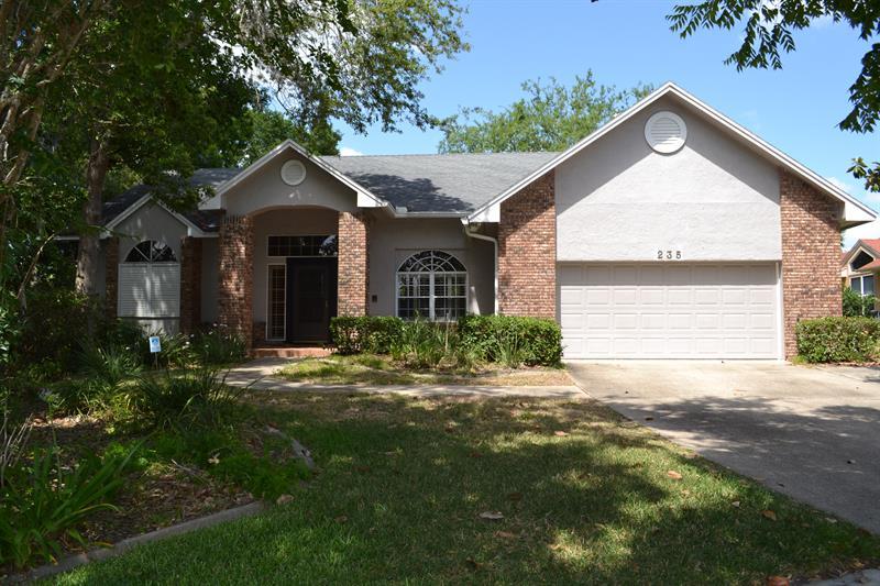 Home For Rent 235 N Mounts Bay Ct Longwood Fl 32779