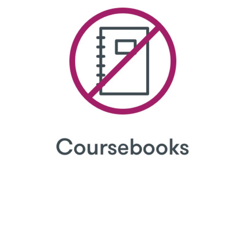No Coursebooks