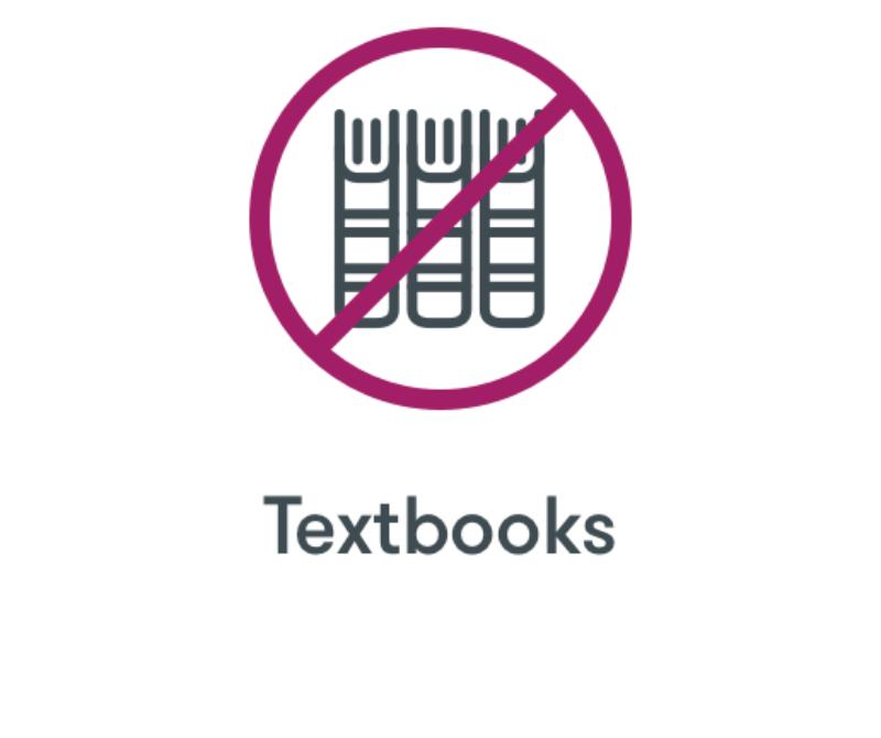 No Textbooks