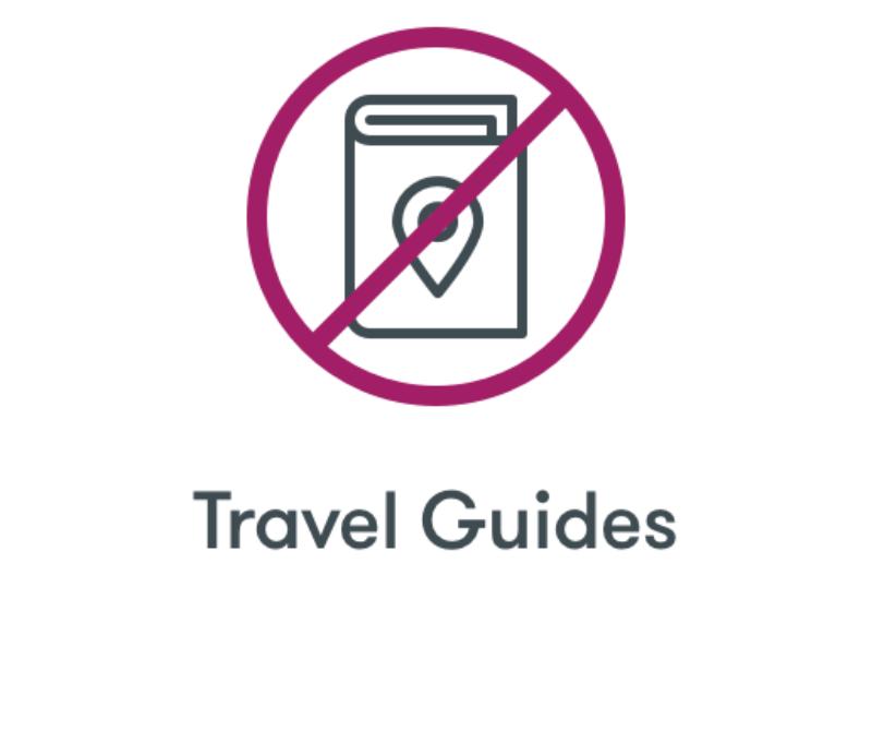 No Travel Guides