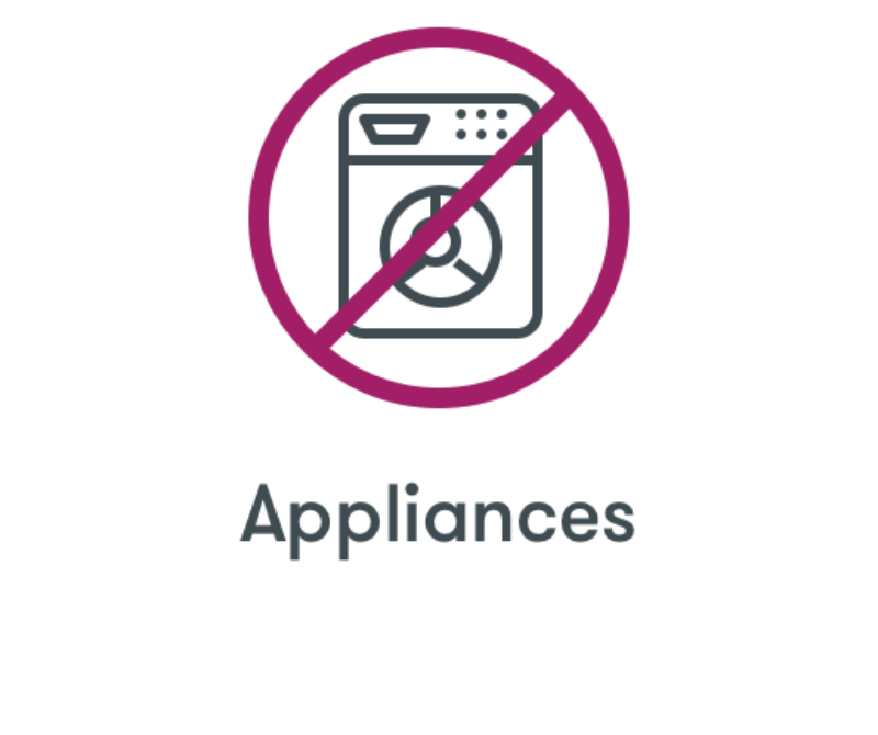 No Appliances