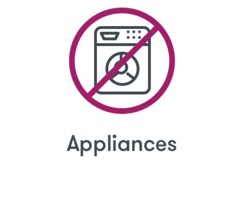No Appliances