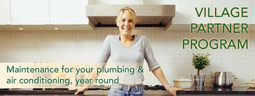 Village Plumbing and Home Services Partner Program, Plumbing and HVAC