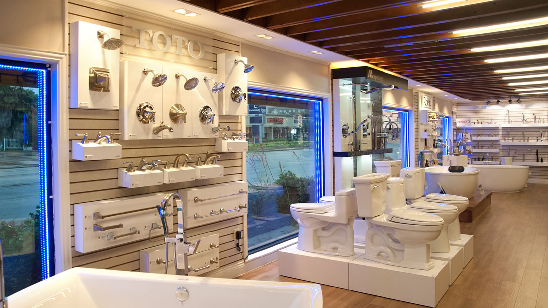 Village kitchen and bath showplace houston 39 s premier showroom Bathroom design showrooms houston