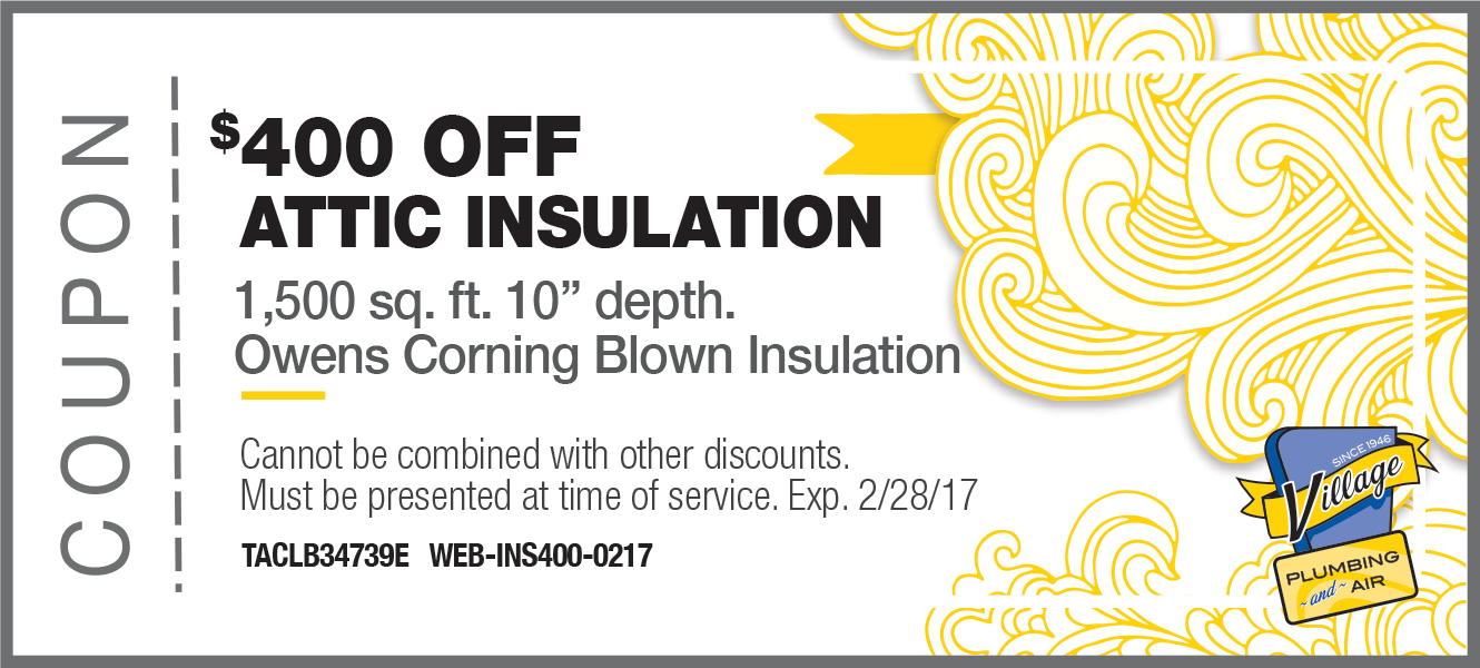 400 off Attic Insulation