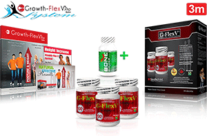 3-month Growth-FlexV Pro System Package.