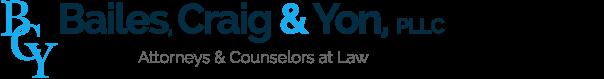 Bailes, Craig & Yon, PLLC logo