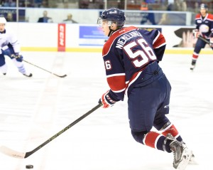 Markus Niemelainen of the Saginaw Spirit. Photo by Aaron Bell/OHL Images