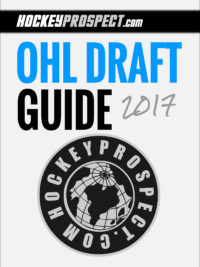 2017 OHL Draft Guide