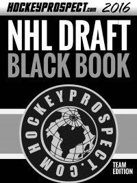 2016 NHL Draft Black Book Team Edition