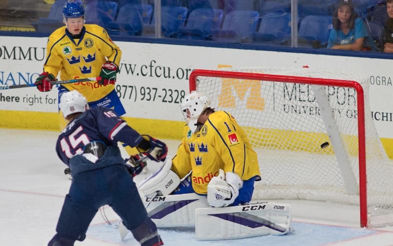 United States Blue Vs Sweden World Junior Summer Showcase