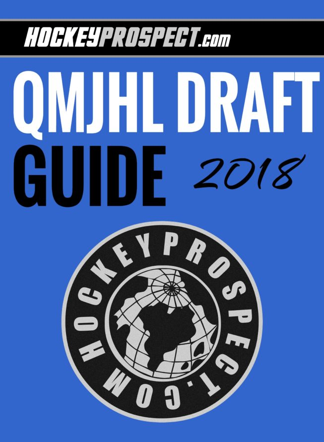 2018 QMJHL Draft Guide