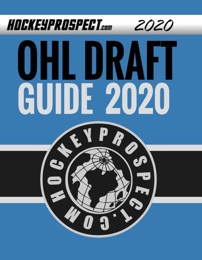 2020 OHL Draft Guide