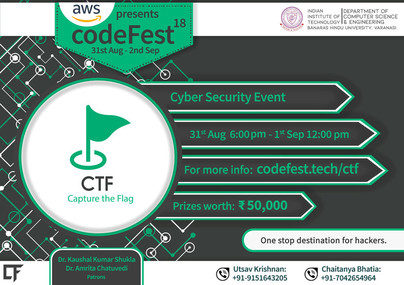 Solve Codefest'18 CTF Questions | Contests | HackerRank