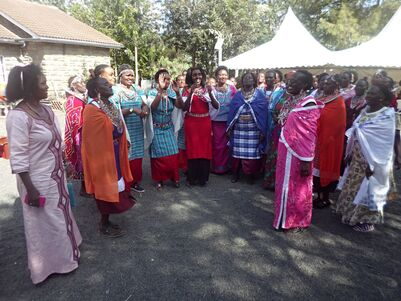 Marriage ceremonies often involve side celebrations of people of the same gender as among the Maasai of eastern Africa.