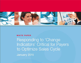 Responding to 'Change Indicators' Critical for Payers to Optimize Sales Cycle