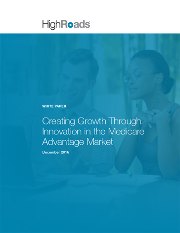 White paper: creating growth through innovation in the medicare advantage market icon