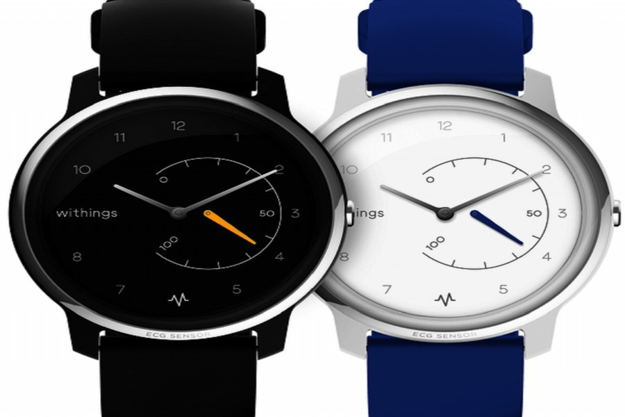 Withings Move ECG wijzerplaat