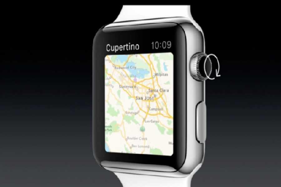 apple watch gps