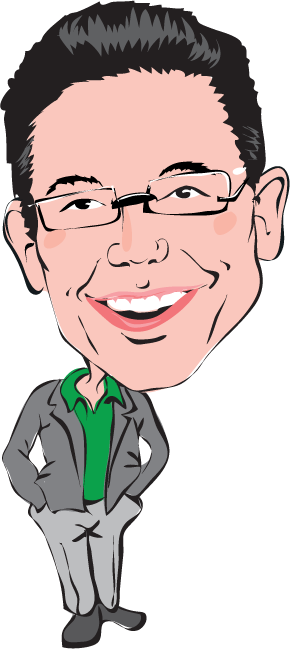 Brett-Caricature